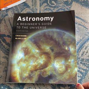 Astronomy college book